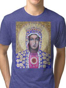 The Black Madonna Tri-blend T-Shirt
