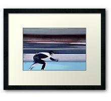 Skater Framed Print