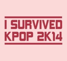 I SURVIVED KPOP 2K14 - BLACK Kids Clothes