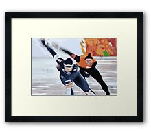 Skaters 3 Framed Print