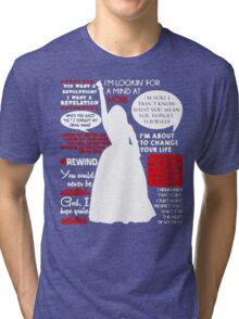 Hamilton Musical Quote Tri-blend T-Shirt