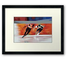 Skaters 6 Framed Print