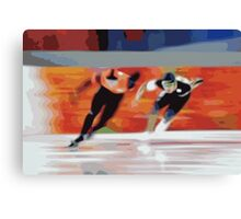 Skaters 6 Canvas Print