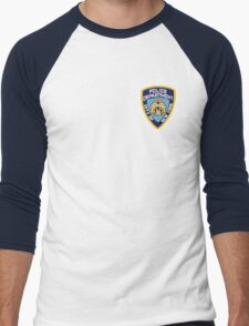 NYPD Men's Baseball ¾ T-Shirt