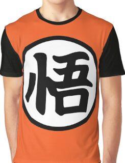 Goku's Wisdom Kanji - Dragon Ball Z Graphic T-Shirt