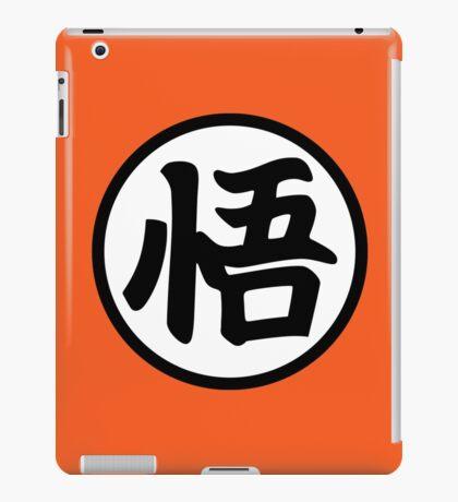 Goku's Wisdom Kanji - Dragon Ball Z iPad Case/Skin