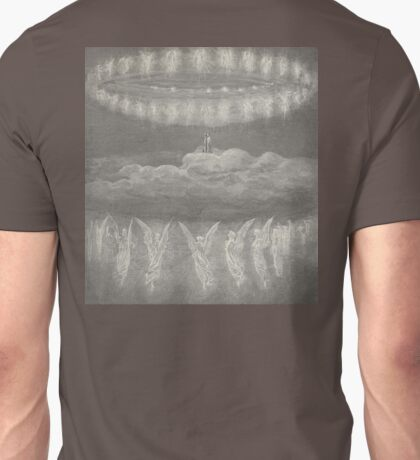 Gustave Dore, Illustration for Paradiso, Paradise, Heaven, Heavenly, Angels Unisex T-Shirt