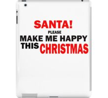 MY WISH FOR CHRISTMAS iPad Case/Skin