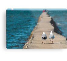 come on, they'll have fish... Metal Print