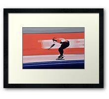 Skater 2 Framed Print