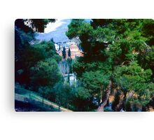 View of Church at Daphni, Greece, Spring 1960 Canvas Print