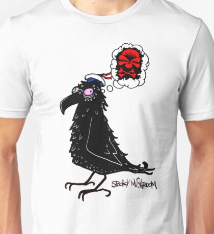 Looney-Coo deep in calamitous thought Unisex T-Shirt