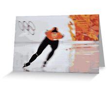 Skater 5 Greeting Card