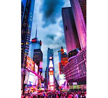 Times Square South V Photographic Print