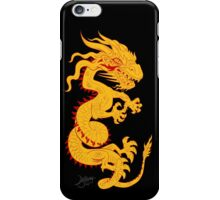 Golden Dragon with Red Style iPhone Case/Skin
