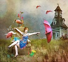 ~ She dreamed about the beach house ~ by Nadya Johnson