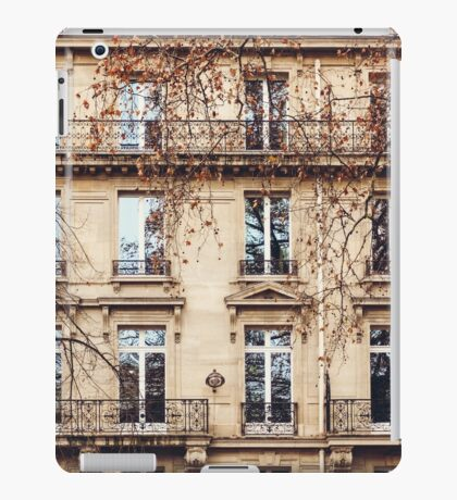 Traditional French Architecture with Typical Windows iPad Case/Skin
