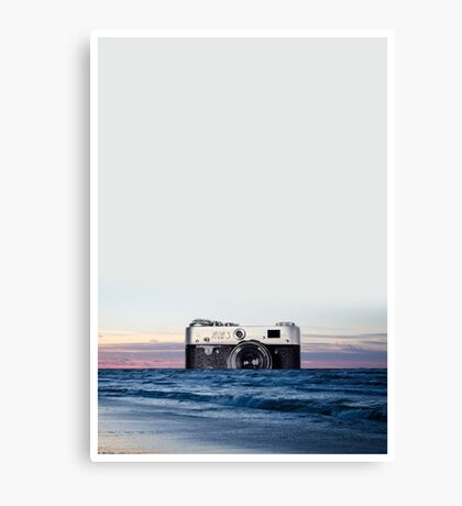 Camera Skyline Canvas Print