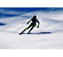 Giants Slalom 3 Photographic Print