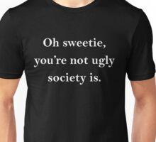 sweetie (white) Unisex T-Shirt