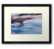 Giants Slalom 4 Framed Print