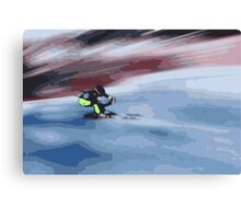 Giants Slalom 4 Canvas Print