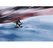 Giants Slalom 4 Photographic Print