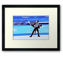 Figure Skaters Framed Print