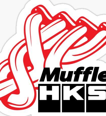 HKS Muffler : JDM Sticker Sticker