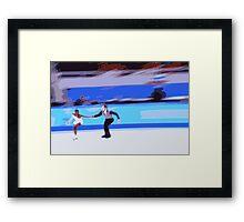 Figure Skaters 3 Framed Print