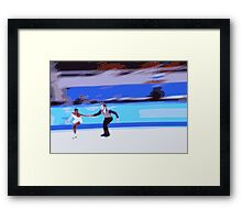 Figure Skaters 3 Framed Print