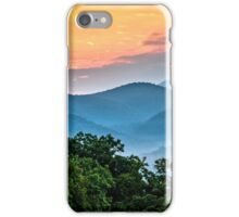 Sunrise over the Smokies iPhone Case/Skin