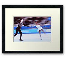 Figure Skaters 4 Framed Print