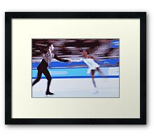 Figure Skaters 4 Framed Print