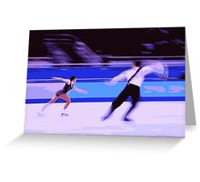Figure Skaters 5 Greeting Card