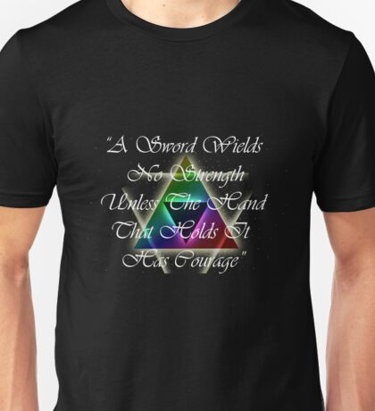 Legend of Zelda, Courage Unisex T-Shirt