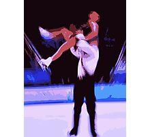 Figure Skaters 6 Photographic Print