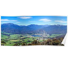 Mount Beauty Panorama Poster