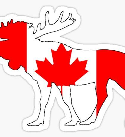 Canada Moose Sticker