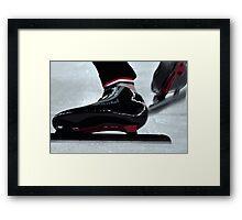 Skates Framed Print