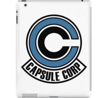 Capsule Corp Dragon Ball Z iPad Case/Skin