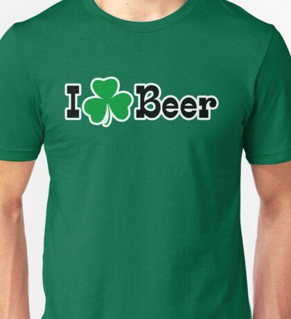 I Shamrock Beer Unisex T-Shirt