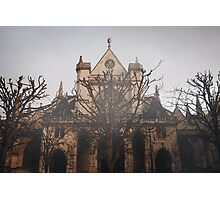 Gothic Background Photographic Print
