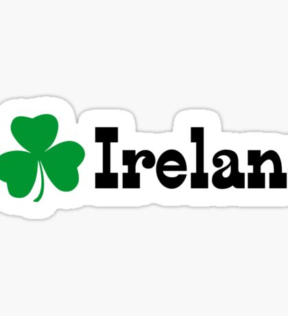 I Shamrock Ireland Sticker