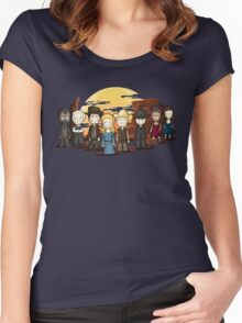 West world chibi Women's Fitted Scoop T-Shirt
