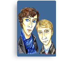 Sherlock Modigliani Canvas Print