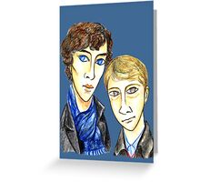 Sherlock Modigliani Greeting Card