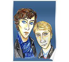 Sherlock Modigliani Poster