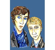 Sherlock Modigliani Photographic Print
