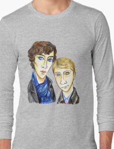 Sherlock Modigliani Long Sleeve T-Shirt